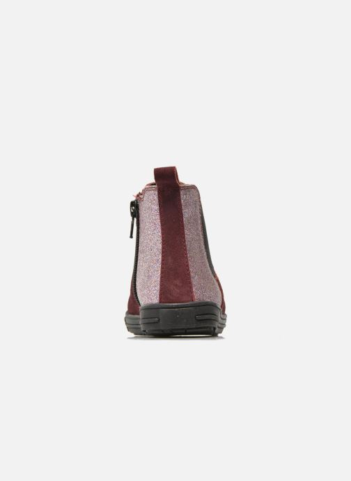 Botines  I Love Shoes KENTIAS Leather Vino vista lateral derecha