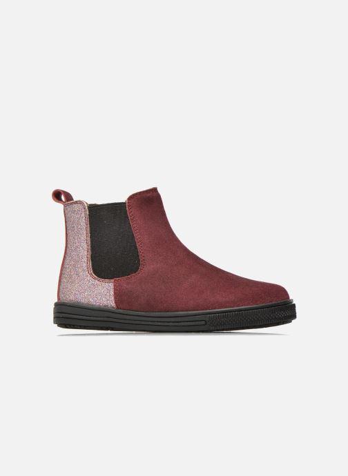 Bottines et boots I Love Shoes KENTIAS Leather Bordeaux vue derrière