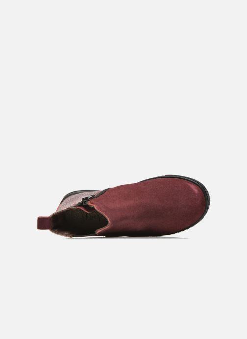Bottines et boots I Love Shoes KENTIAS Leather Bordeaux vue gauche