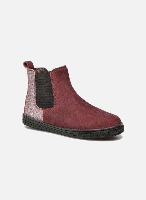 Bottines et boots I Love Shoes KENTIAS Leather Bordeaux vue détail/paire
