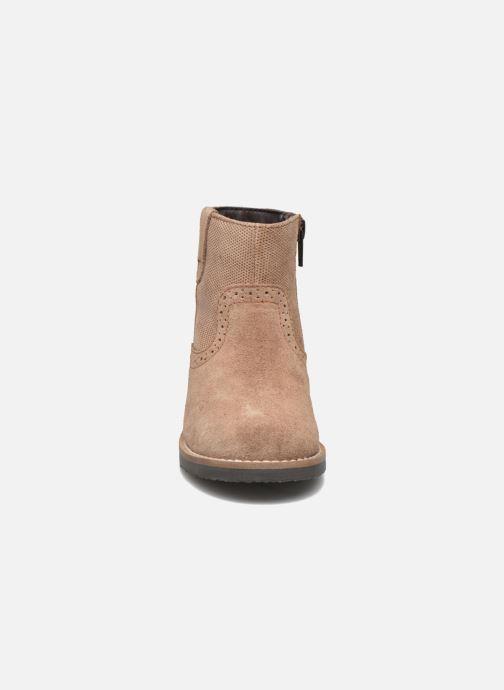 Stivaletti e tronchetti I Love Shoes KEFFOIS Leather Marrone modello indossato