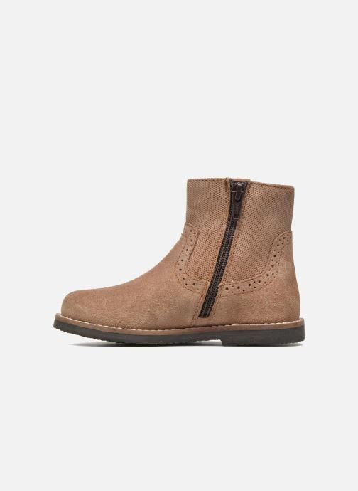 Stivaletti e tronchetti I Love Shoes KEFFOIS Leather Marrone immagine frontale