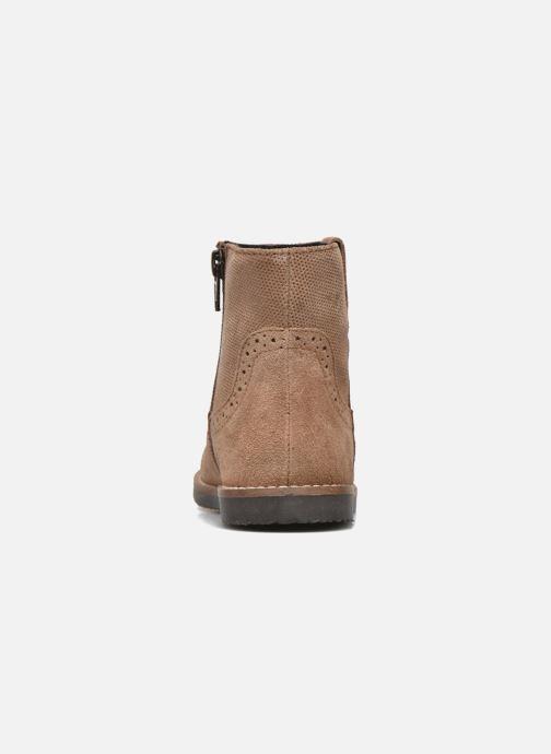 Botines  I Love Shoes KEFFOIS Leather Marrón vista lateral derecha