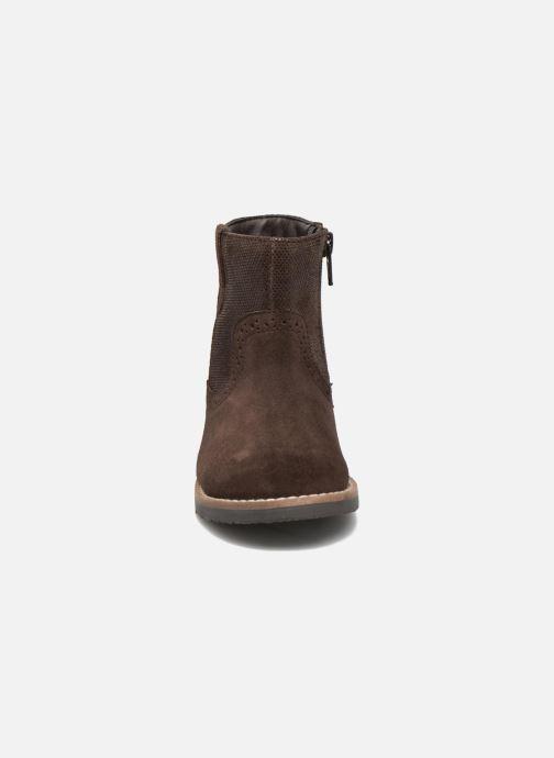 Bottines et boots I Love Shoes KEFFOIS Leather Marron vue portées chaussures