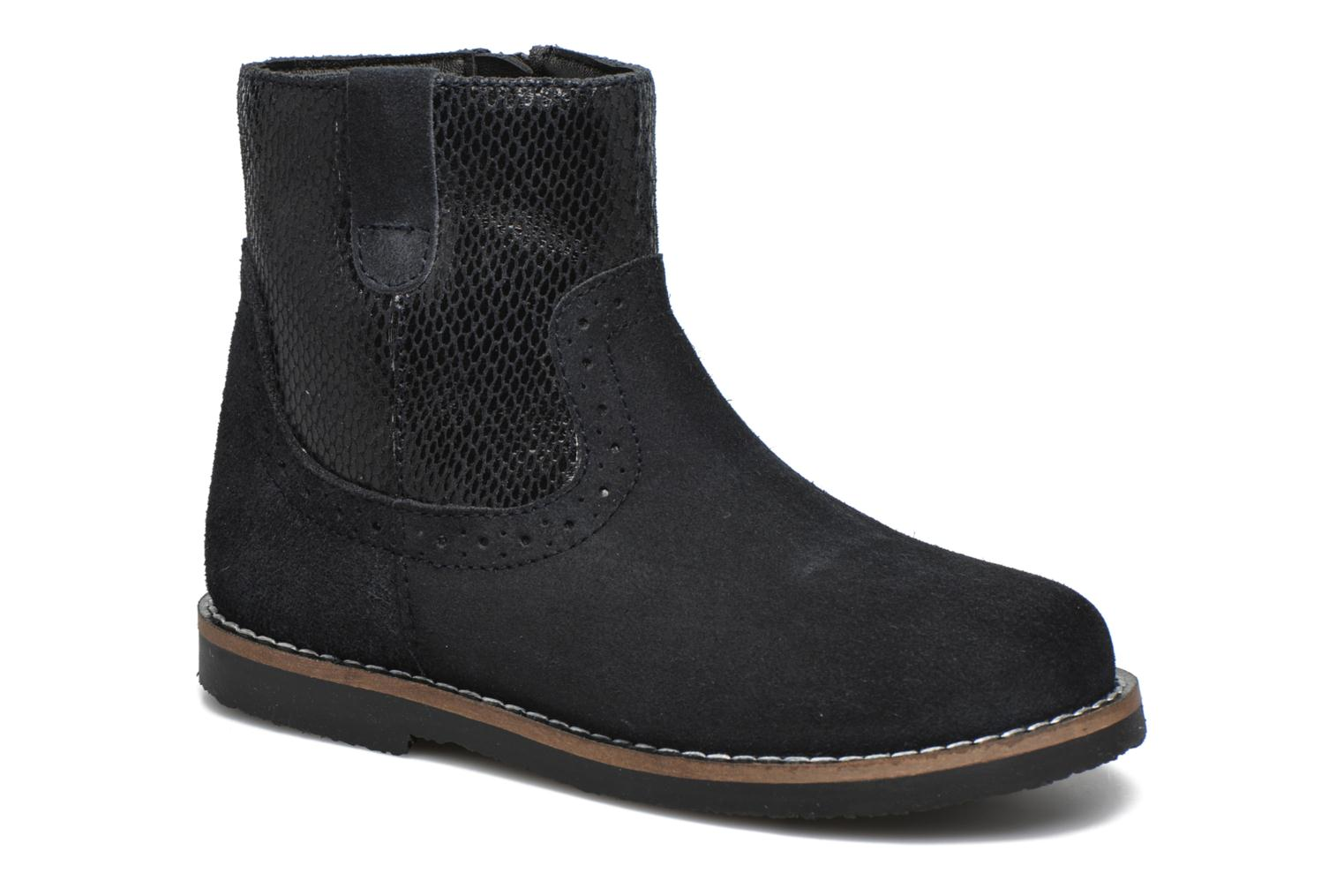 Bottines et boots I Love Shoes KEFFOIS Leather Noir vue détail/paire