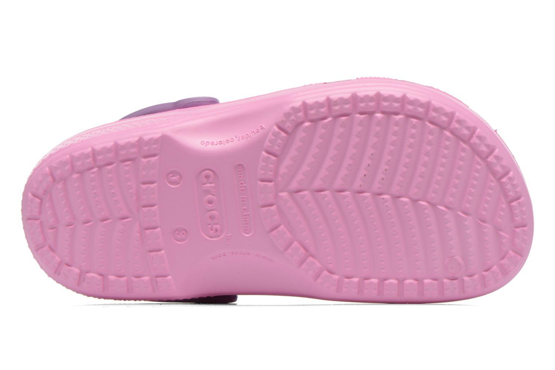 Sandales et nu-pieds Crocs CC Dora Butterfly Cl Rose vue haut