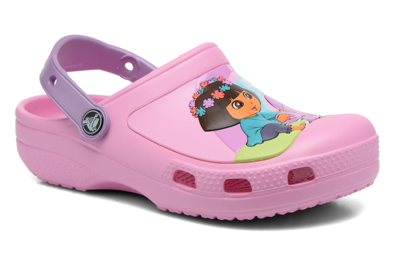 Sandales et nu-pieds Crocs CC Dora Butterfly Cl Rose vue détail/paire