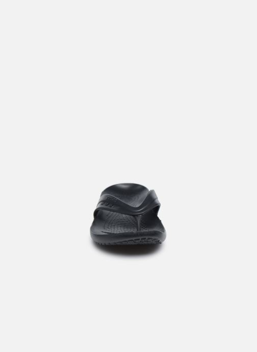 Zehensandalen Crocs Kadee Flip-flop Women schwarz schuhe getragen