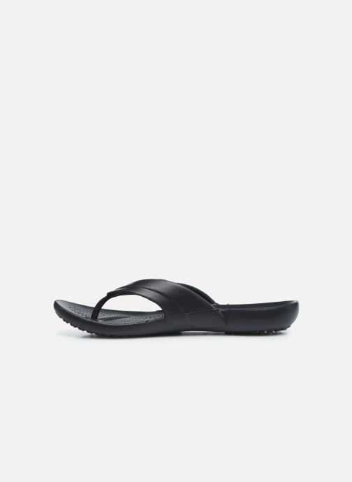 Infradito Crocs Kadee Flip-flop Women Nero immagine frontale