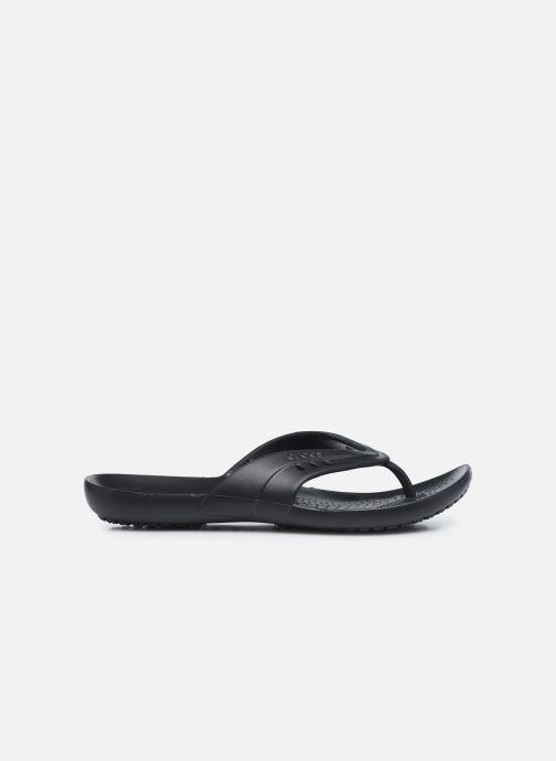 Zehensandalen Crocs Kadee Flip-flop Women schwarz ansicht von hinten