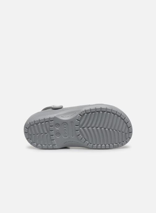 Sandales et nu-pieds Crocs Ralen Clog K Gris vue haut