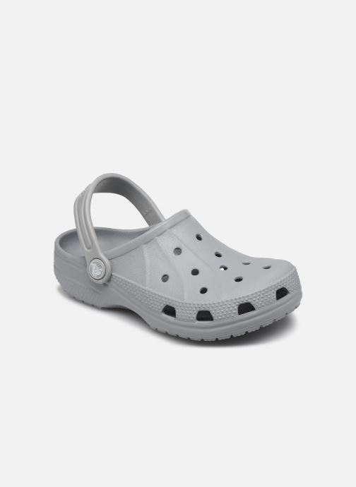 Sandals Crocs Ralen Clog K Grey detailed view/ Pair view