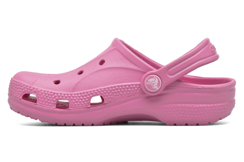 Sandales et nu-pieds Crocs Ralen Clog K Rose vue face