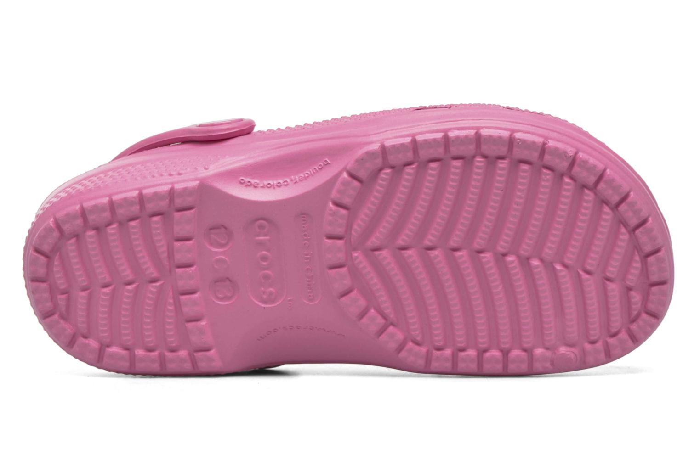 Sandales et nu-pieds Crocs Ralen Clog K Rose vue haut