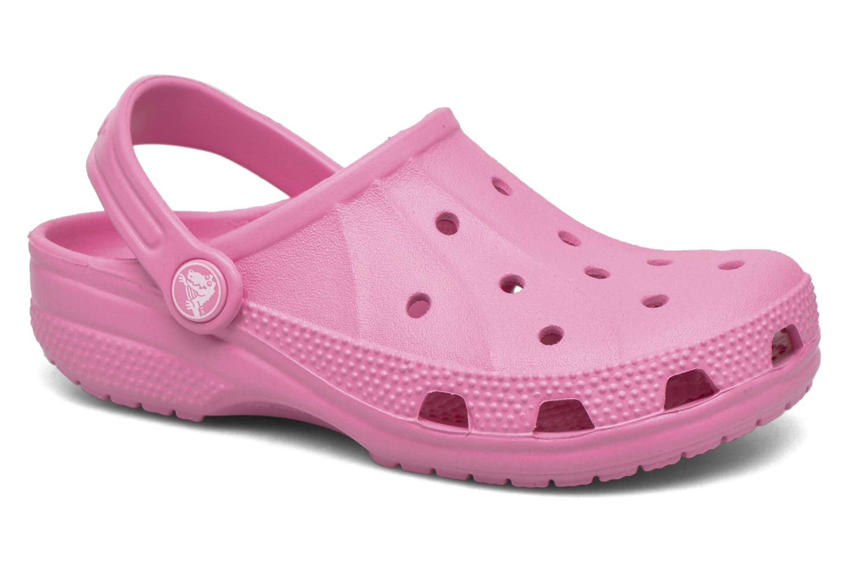 Sandales et nu-pieds Crocs Ralen Clog K Rose vue détail/paire