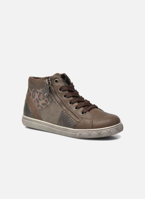 Sneaker I Love Shoes SIRQUE braun detaillierte ansicht/modell