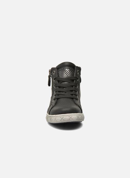 Baskets I Love Shoes SIRQUE Noir vue portées chaussures