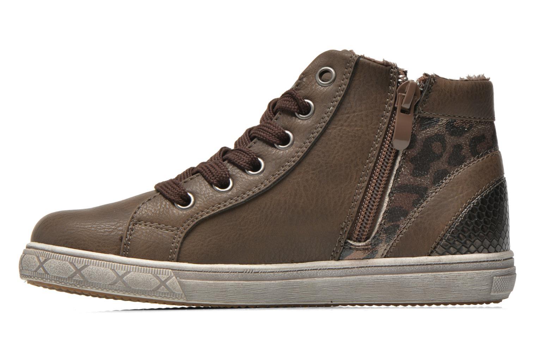 Baskets I Love Shoes SIRQUE Marron vue face