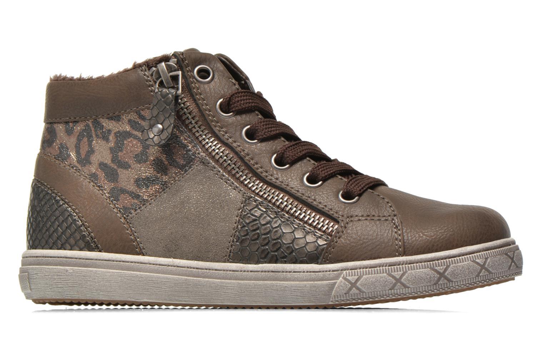 Baskets I Love Shoes SIRQUE Marron vue derrière