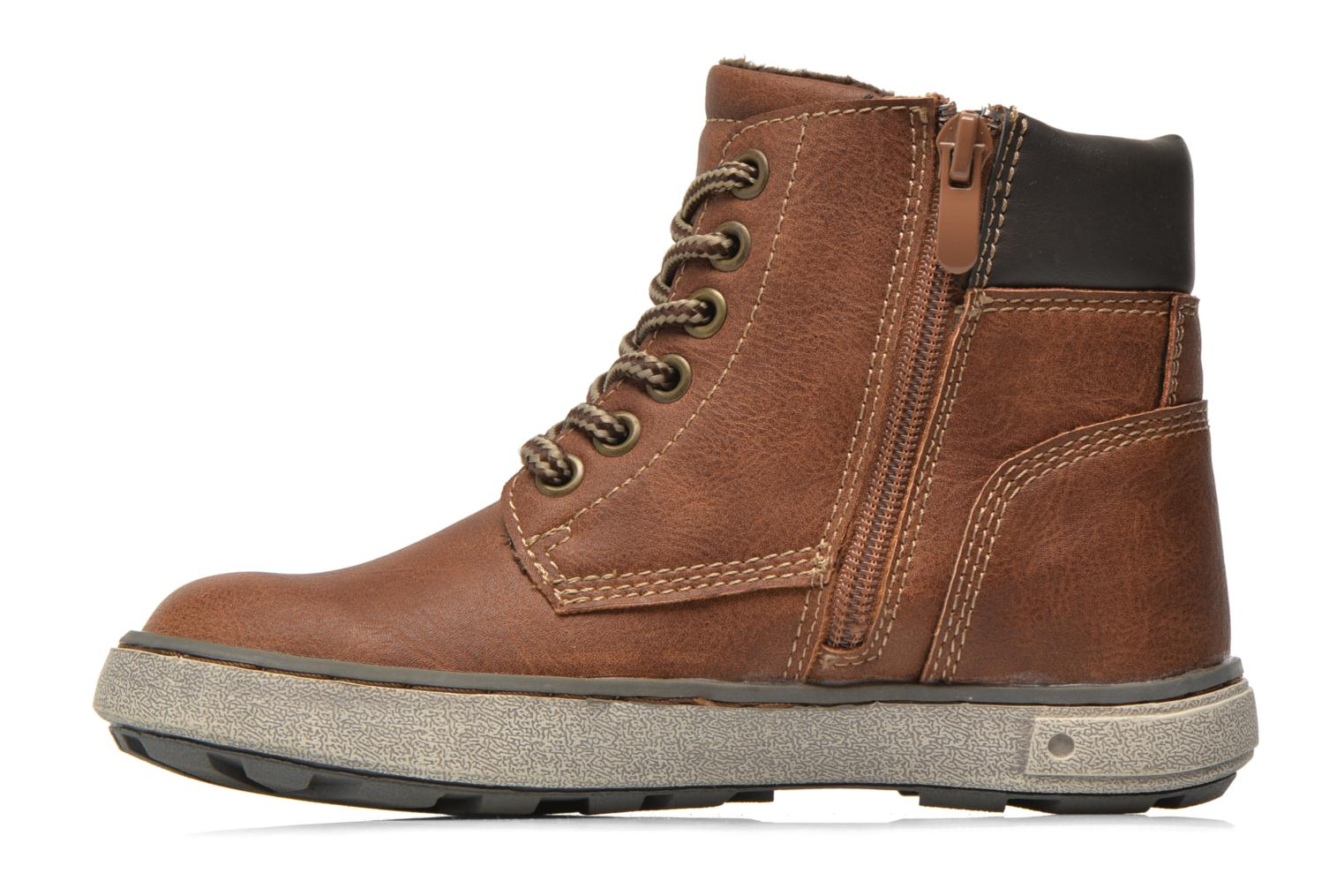 Trainers I Love Shoes SEPHALO Brown front view
