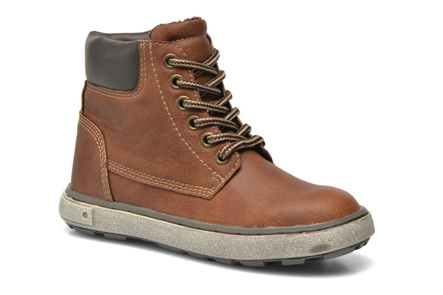 Trainers I Love Shoes SEPHALO Brown detailed view/ Pair view