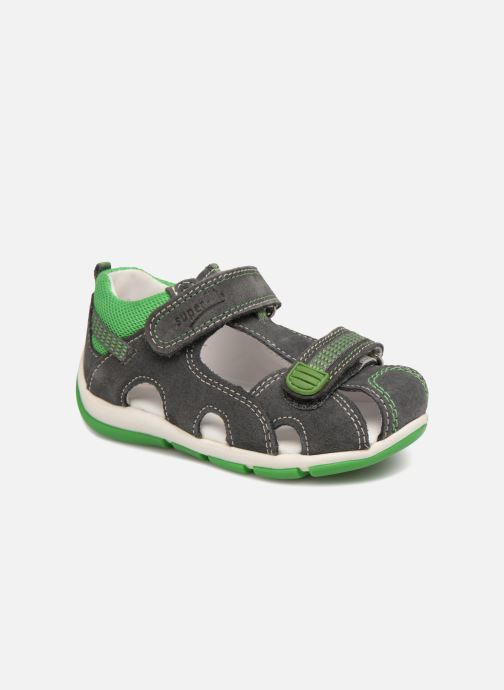 Sandals Superfit Freddy Grey detailed view/ Pair view