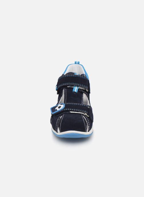 Sandali e scarpe aperte Superfit Freddy Azzurro modello indossato