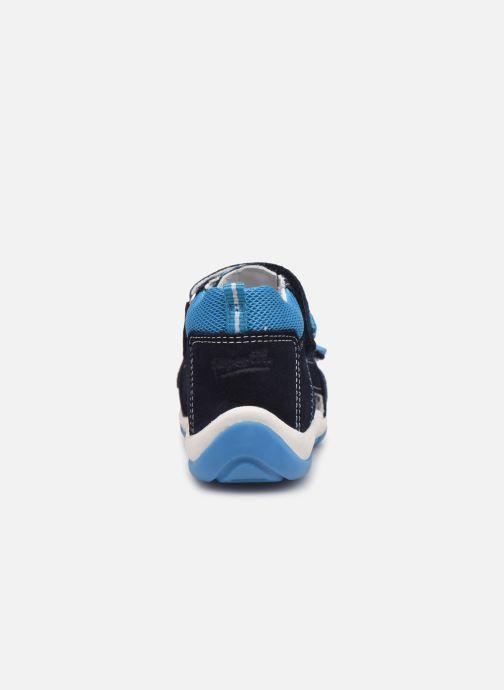 Sandalen Superfit Freddy blau ansicht von rechts