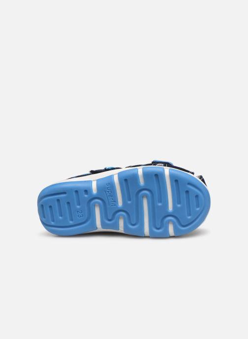 Sandales et nu-pieds Superfit Freddy Bleu vue haut