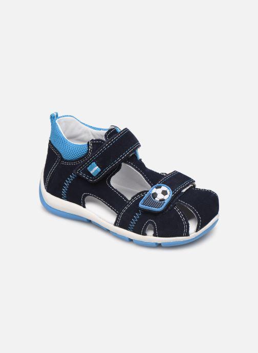 Sandaler Superfit Freddy Blå detaljeret billede af skoene