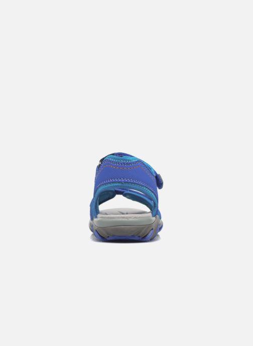 Sandales et nu-pieds Superfit Mike Bleu vue droite