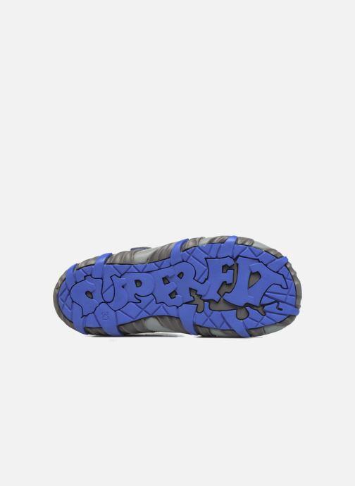 Sandales et nu-pieds Superfit Mike Bleu vue haut