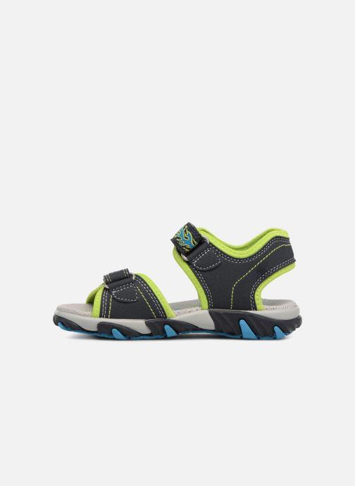 Sandales et nu-pieds Superfit Mike Bleu vue face