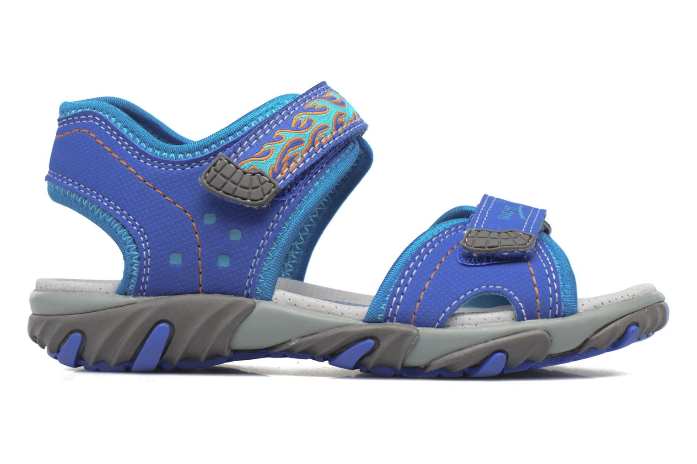 Sandales et nu-pieds Superfit Mike Bleu vue derrière