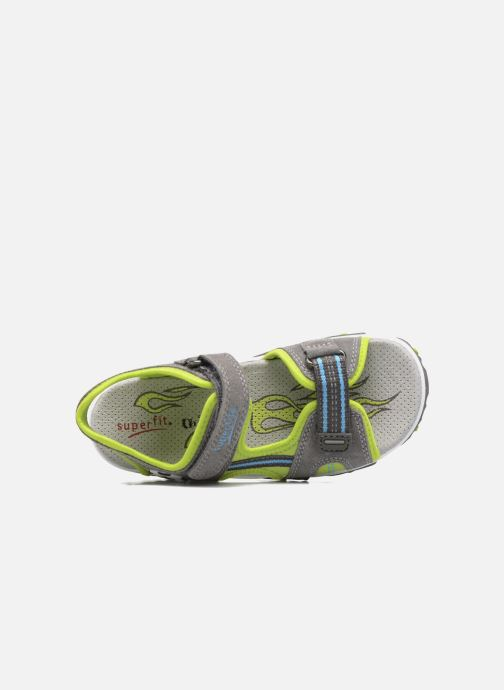 Sandalen Superfit Mike 2 Groen achterkant
