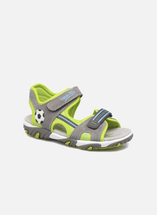 Sandales et nu-pieds Superfit Mike 2 Vert vue détail/paire