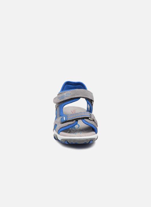 Sandales et nu-pieds Superfit Mike 2 Gris vue portées chaussures
