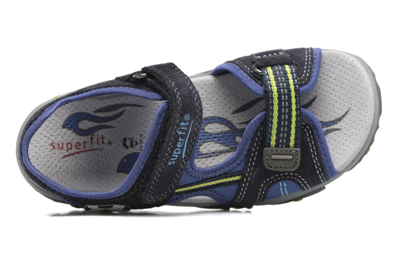 Sandales et nu-pieds Superfit Mike 2 Bleu vue gauche