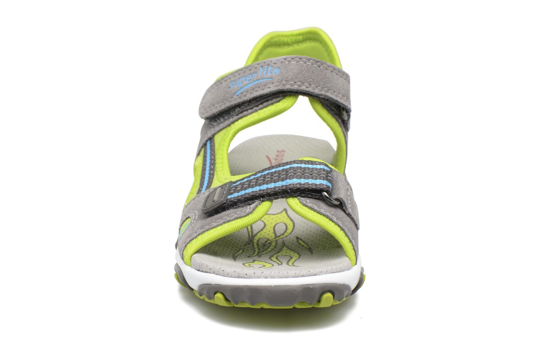Sandales et nu-pieds Superfit Mike 2 Vert vue portées chaussures