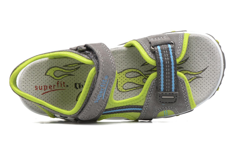 Sandales et nu-pieds Superfit Mike 2 Vert vue derrière