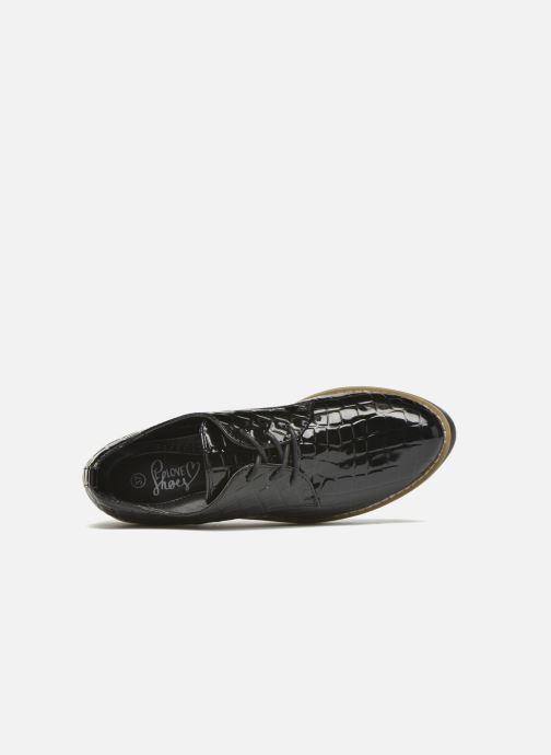 Chaussures à lacets I Love Shoes Thada Noir vue gauche