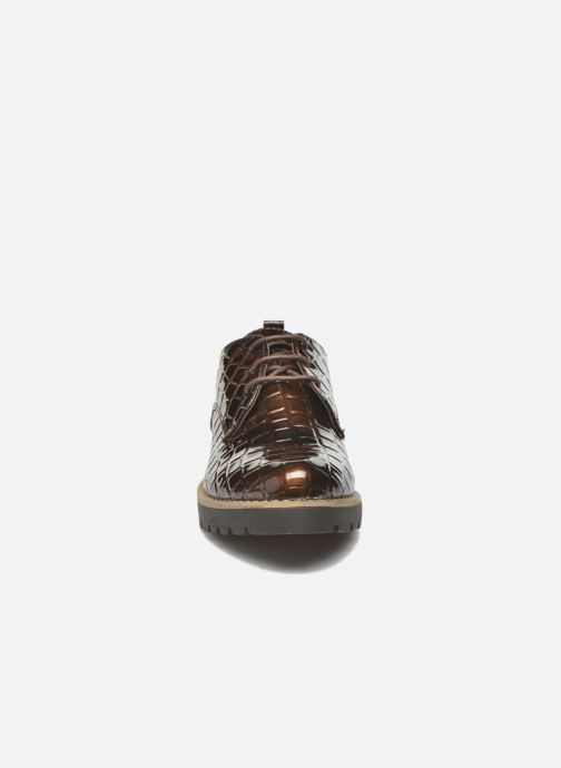 Lace-up shoes I Love Shoes Thada Brown model view