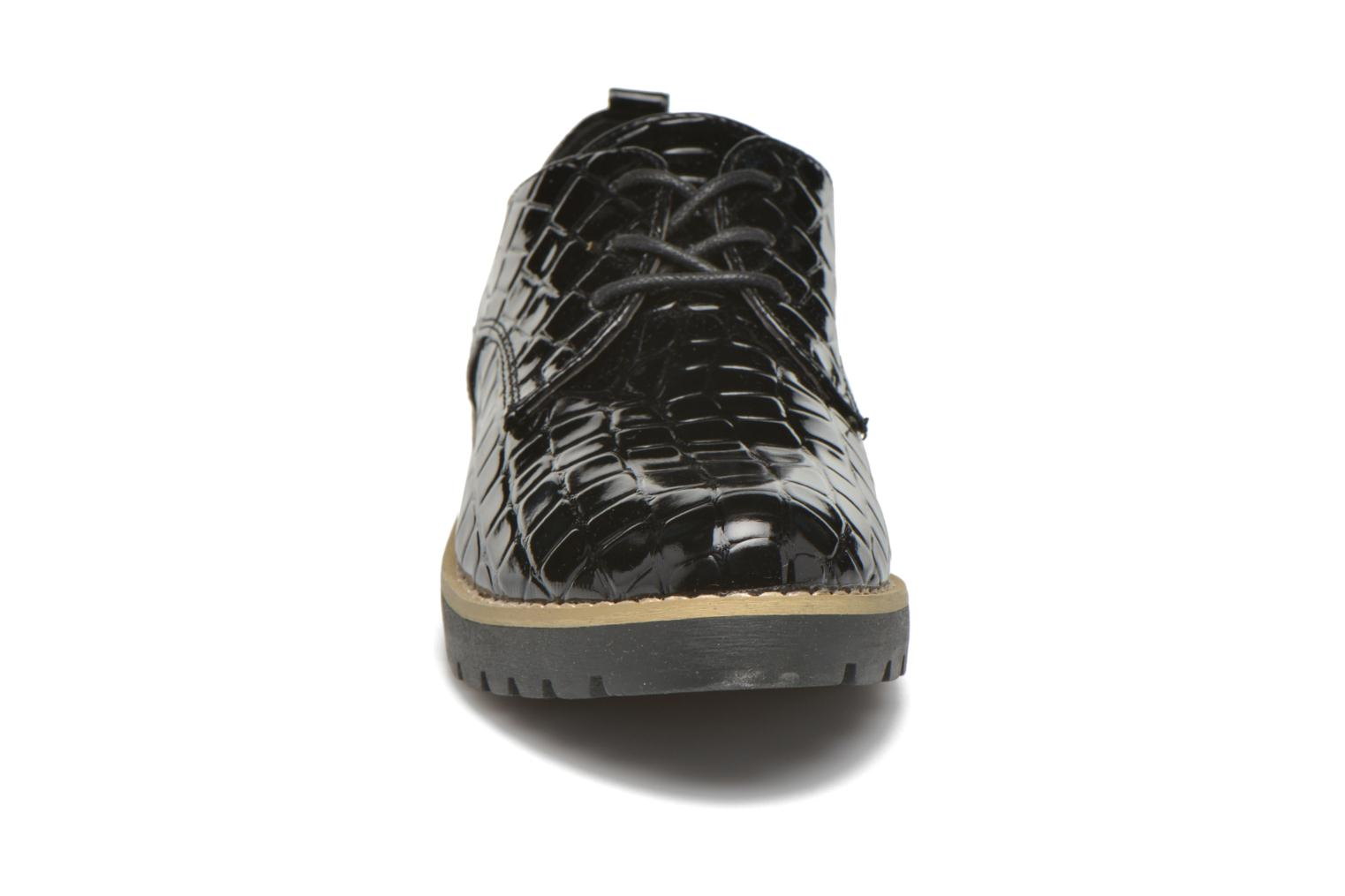 Lace-up shoes I Love Shoes Thada Black model view