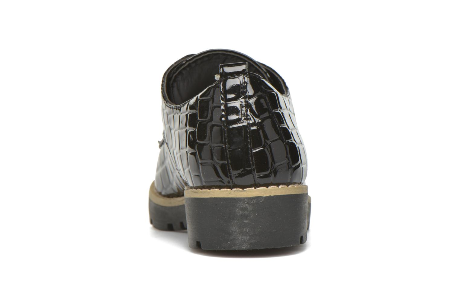 Lace-up shoes I Love Shoes Thada Black view from the right