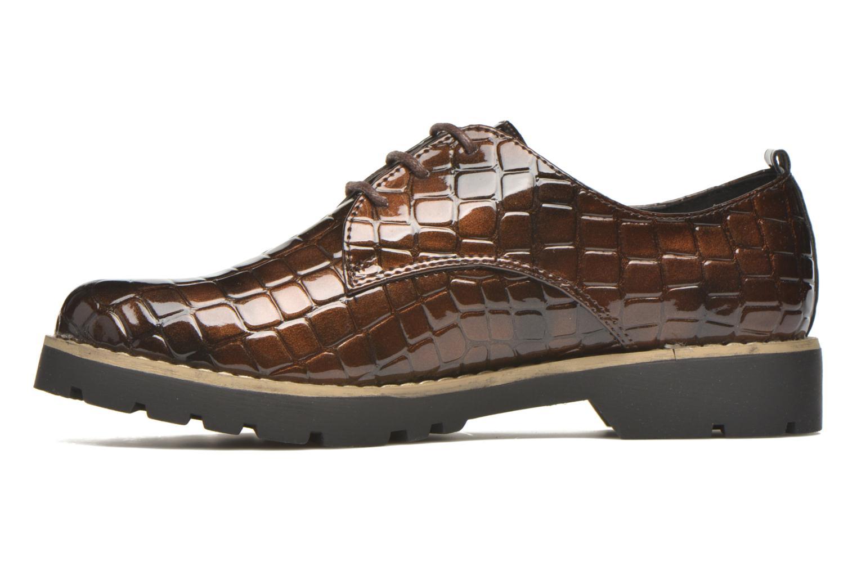 Zapatos con cordones I Love Shoes Thada Marrón vista de frente