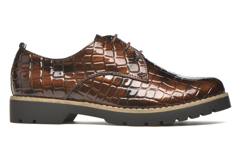 Zapatos con cordones I Love Shoes Thada Marrón vistra trasera