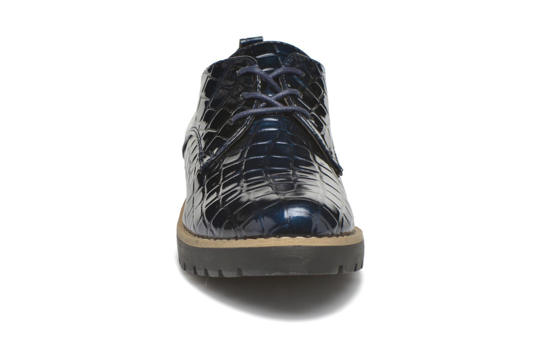 Chaussures à lacets I Love Shoes Thada Bleu vue portées chaussures