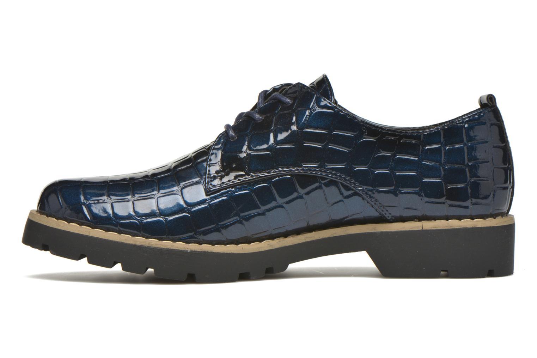 Chaussures à lacets I Love Shoes Thada Bleu vue face