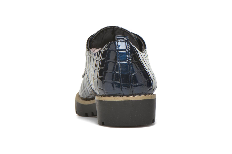 Chaussures à lacets I Love Shoes Thada Bleu vue droite