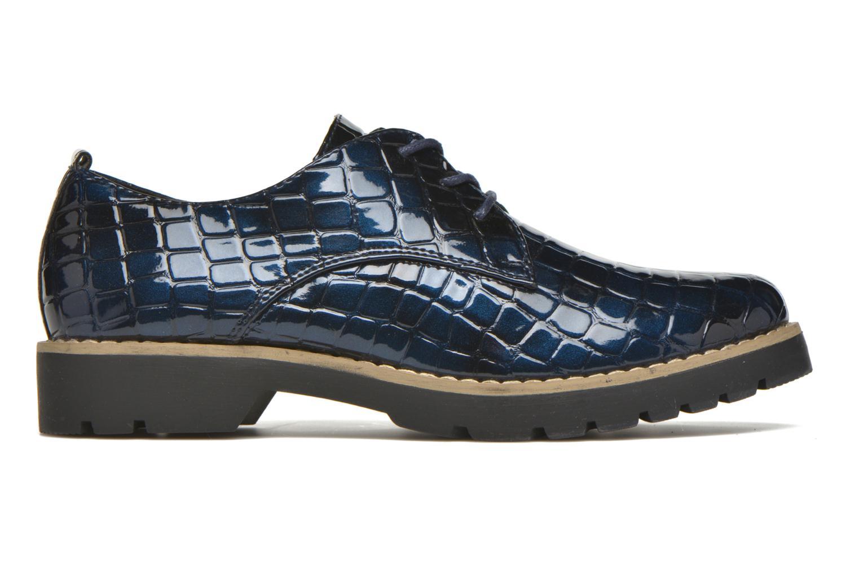 Chaussures à lacets I Love Shoes Thada Bleu vue derrière